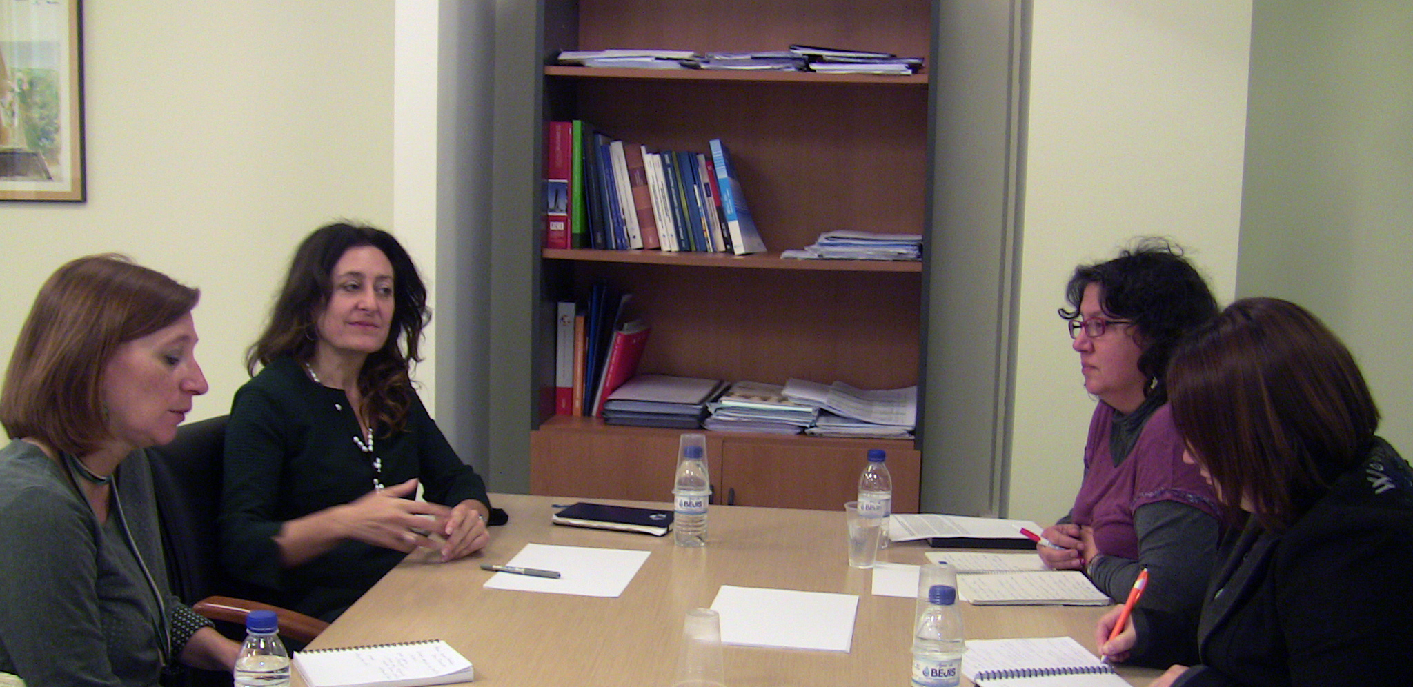 Daria Terraez, Miriam Fernandez, Eva Sanchis