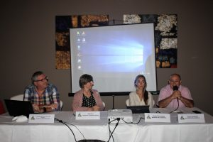 Estela Daroca, Rafael Gimenez, Clara Fernandez, Josep Manel Frances
