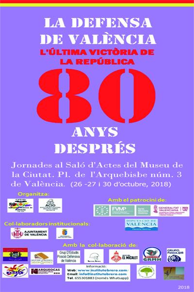 Cartel nuevo 80 Defensa Valencia NOTICIAS